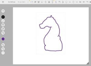 チェスのナイトを描いてみた