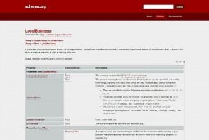 schema.orgの一覧
