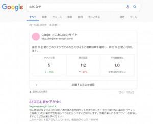 Googleのパネル