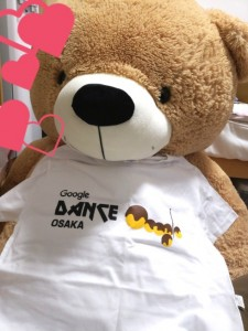GoogleDanceOsakaのTシャツ
